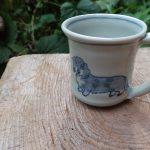 ダックス 陶芸 カップ pottery