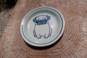 パグ16㎝皿 陶芸 パグ