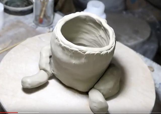 手びねり パグ作り方