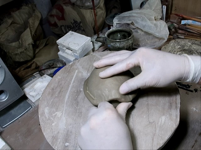 陶芸 亀 作り方