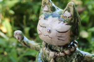 猫の神様 陶芸
