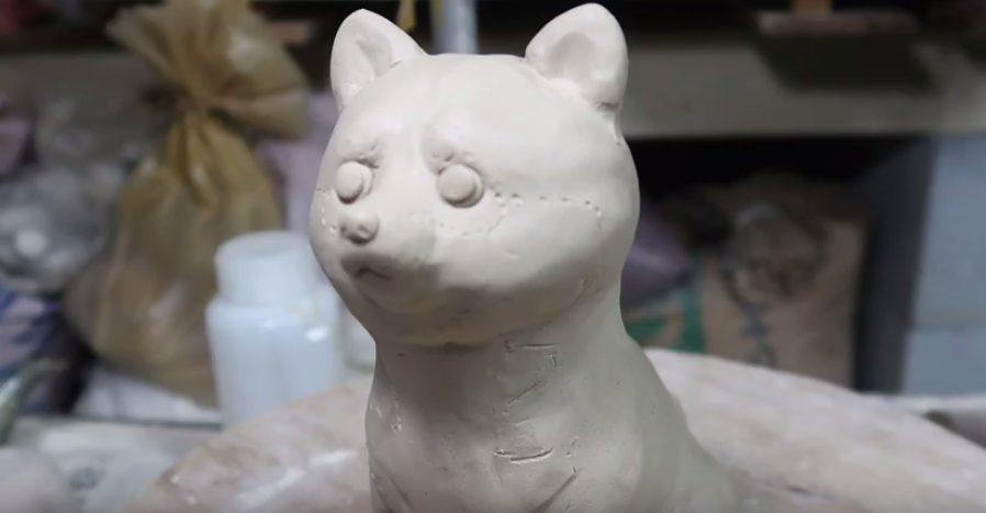 陶芸 柴犬 shibaainu